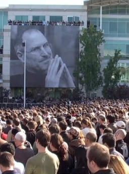 RIP Steve Jobs. Un corpus del lutto su Twitter