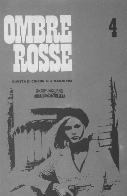 Ombre rosse n. 4 - Marzo 1968